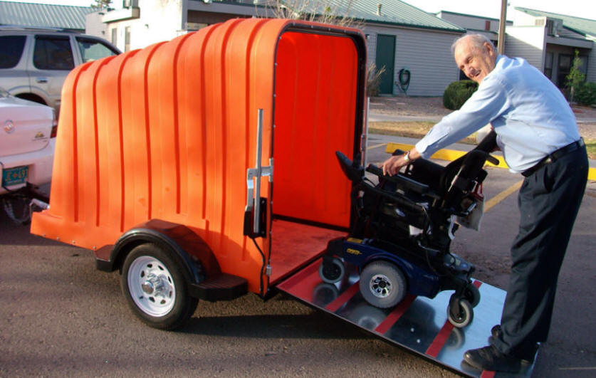VERSA MOBILITY WHEELCHAIR AND SCOOTER TRAILER