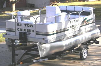 SMALL PONTOONS AND SMALL TRAILERS
