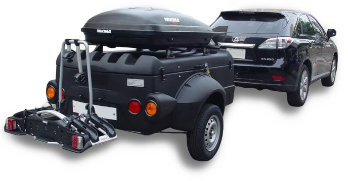 Cargo Box And Roof Rack Sport Trailers